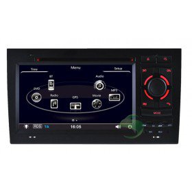 Auto DVD Player GPS Navigationssystem für Audi A4 S4 RS4(2002 2003 2004 2005 2006 2007 2008)