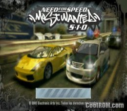 Need for Speed - Most Wanted 5-1-0 (Europe) ROM (ISO) Download for Sony Playstation Portable / PSP - CoolROM.com