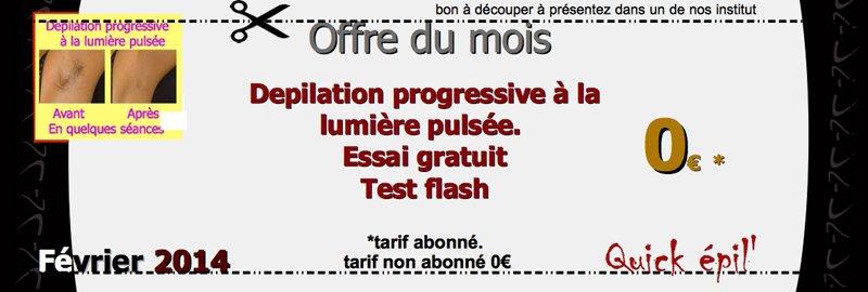epilation permanente à la lumiere pulsee à Belfort et Montbéliard Quick épil' Proépil Montbéliard & Belfort