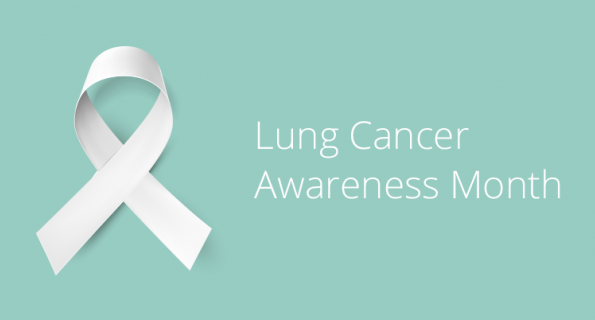World Lung Cancer Awareness Month : Lung Cancer-Stop Smoking Start Breathing