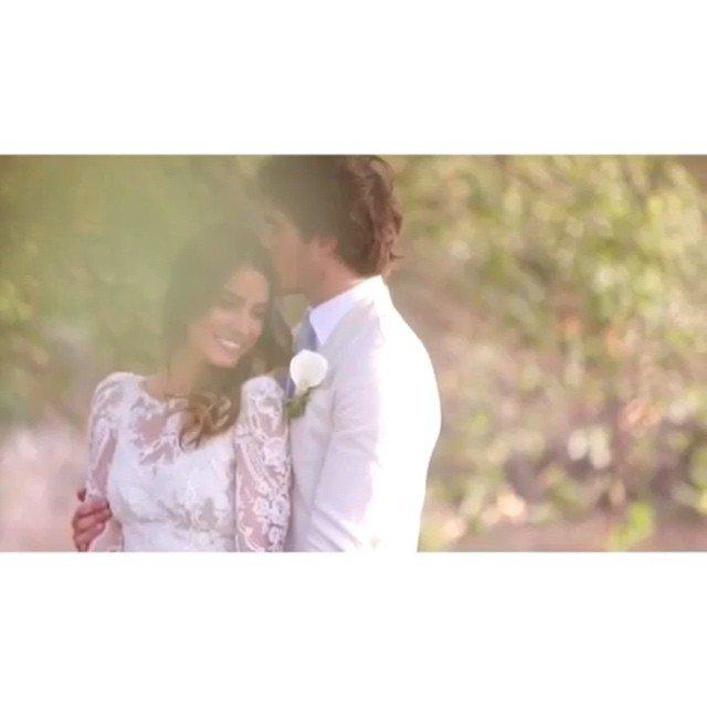 Nikki Reed dévoile une vidéo sur Instagram de son mariage romantique avec Ian Somerhalder. Que pensez vous de ce couple? Mariage trop vite?