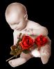 bébé a la rose