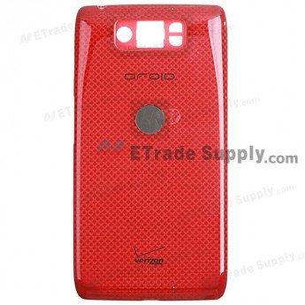 Motorola Droid Ultra XT1080 Battery Door - Red