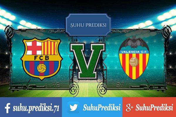 Prediksi Bola Barcelona Vs Valencia 2 Februari 2018
