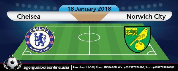 Prediksi Chelsea Vs Norwich City 18 January 2018