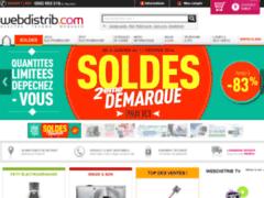 Webdistrib : Vente de matériel High-Tech et Electroménager en ligne