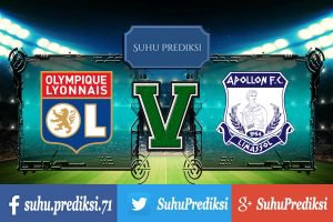Prediksi Bola Olympique Lyonnais Vs Apollon 24 November 2017