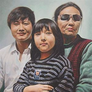 turn picture into family portrait painting| Yonicoo.com