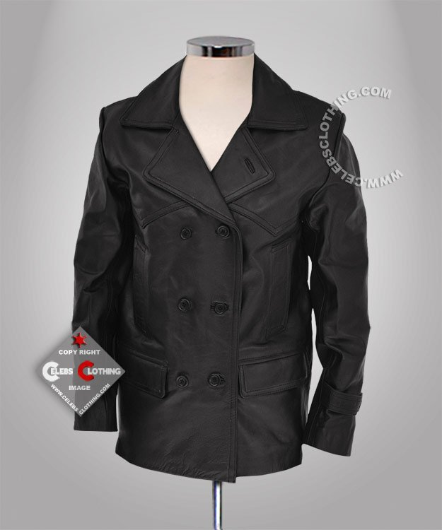 Doctor Who Real Leather Jacket
