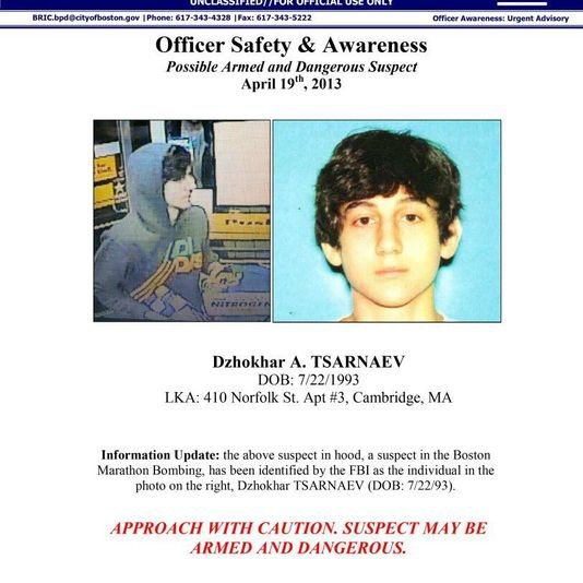 Ce que l'on sait des frères Tsarnaev, suspects de l'attentat de Boston