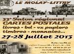 """Annonce """"27-28 juillet - 33e salon cartes postales & collections"""""""