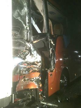 Schlimmes Unglück in Frankreich: Deutscher Reisebus kracht in LKW – zwei Tote - Aus aller Welt