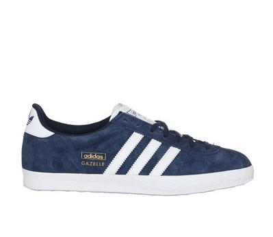 sale retailer f286c da43a 01 novembre 2015 · Sneakers suède navy Gazelle Adidas Originals, Baskets  Femme Monshowroom