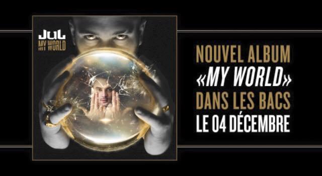 Découvrez le premier extrait de My World le nouvel album de Jul