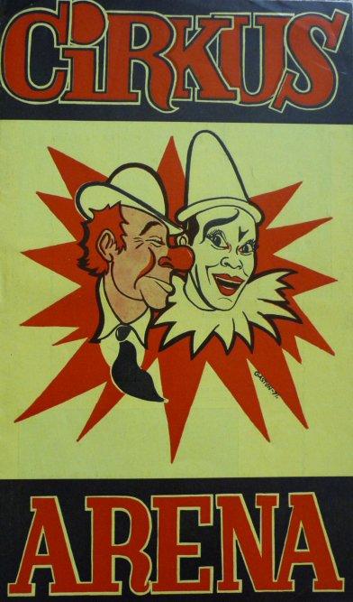 A vendre / On sale / Zu verkaufen / En venta / для продажи :  Programme cirkus ARENA 1975