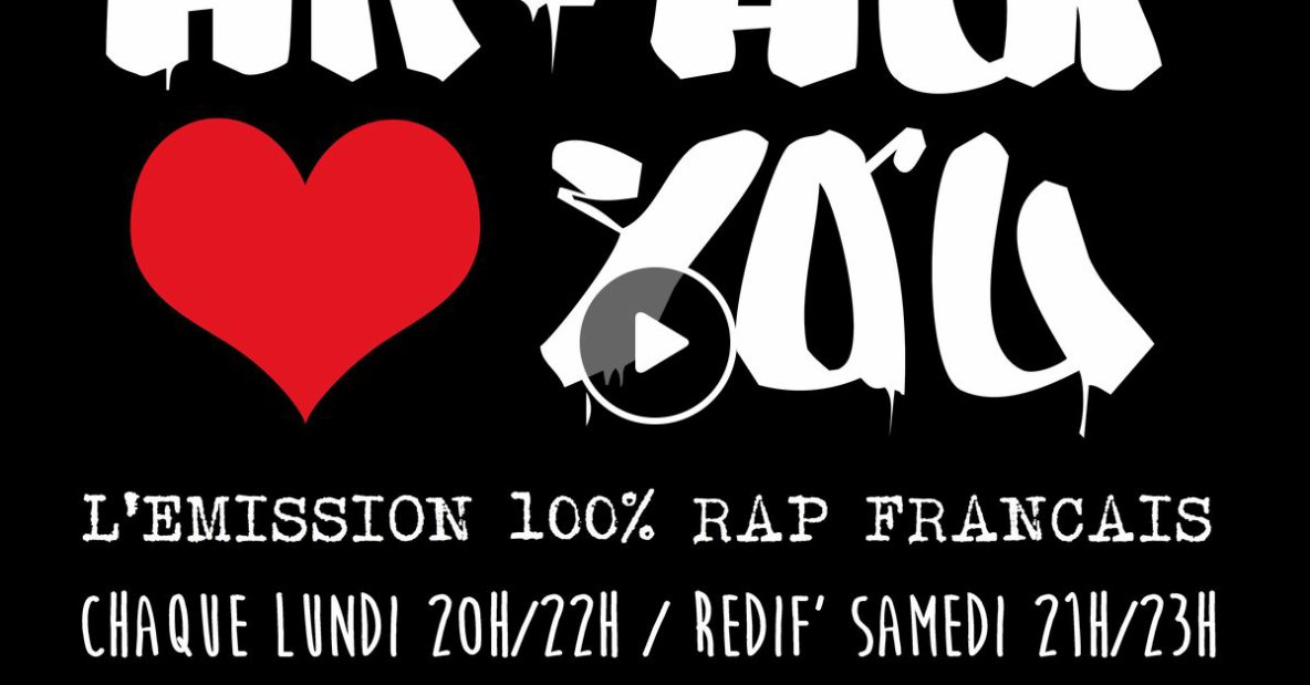 """À la Rue "" sur  ""Hip Hop Loves You -101.9 Fm"""