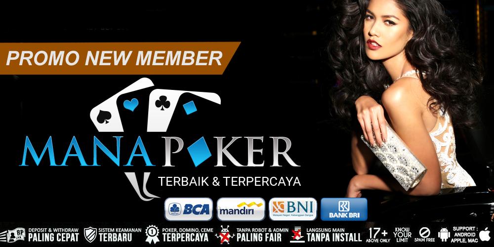 Agen Poker Online Terpercaya Deposit 10rb   Manapoker