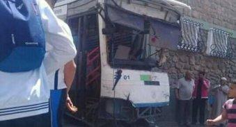 L'HEROÏQUE CHAUFFEUR EST MORT SUR PLACE : Un bus de l'ETUM perd ses freins