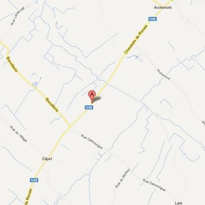 Velaines: un automobiliste décède après être entré en collision avec un bus