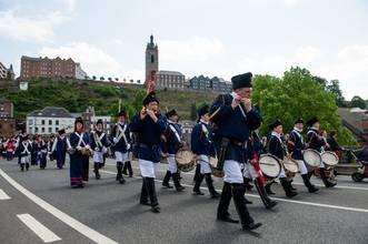 EN IMAGES - Procession et Marche Saint Roch de Thuin