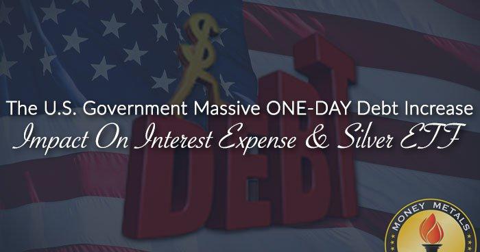 The U.S. Government Massive ONE-DAY Debt Increase Impact