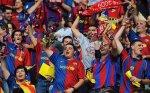 les supporters de barçelone - F.C.B