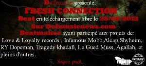 Defmusic Présente Fresh Connection Beat en téléchargement Gratuit sur Defmusicnews.com le 25.09.2013 -