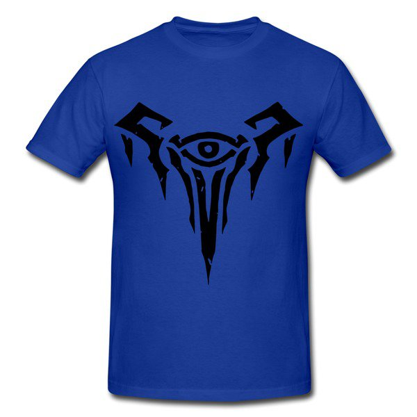 Freljord League Of Legends Royal Blue Heavyweight T-shirt-HICustom.net