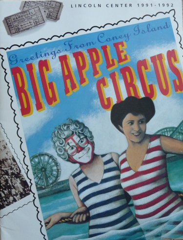 Programme Big Apple Circus 1991-1992
