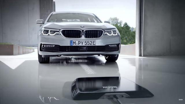 BMW introduces a wireless charger for plug-in Hybrid 530e iPerformance - Auto Cars
