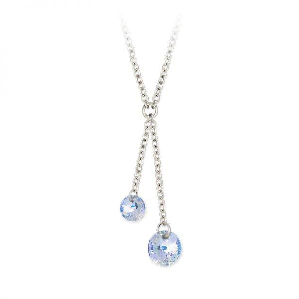 Double Pendant Cristal - Magie des Bijoux - Les pierres minérales