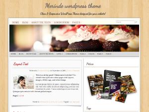 FREE: Merinde Wordpress Theme