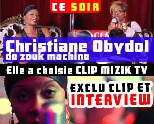 (Ce soir) Christiane Obydol de Zouk Machine