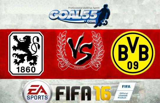 Prediksi Skor 1860 Munchen Vs Borussia Dortmund 16 Juli 2016