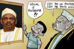 COP21 : « Photobomb » de Ikililou Dhoinine, kamikaze présidentiel ? - JeuneAfrique.com