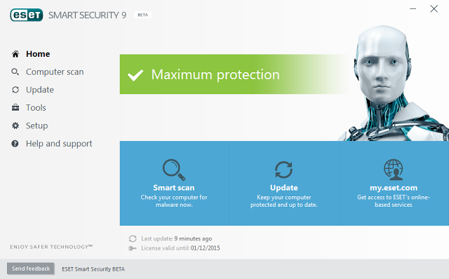 eset smart security 9 license key free 2017