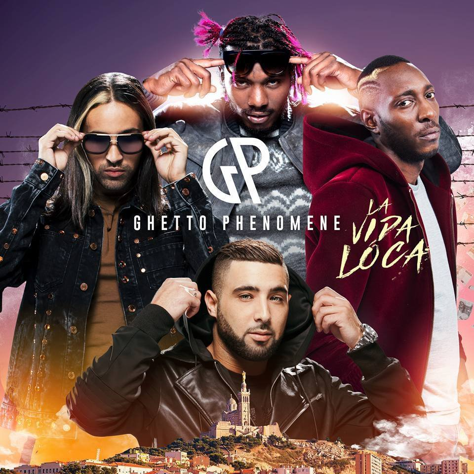 "Ghetto Phénomène dévoile la cover de "" La Vida Loca """