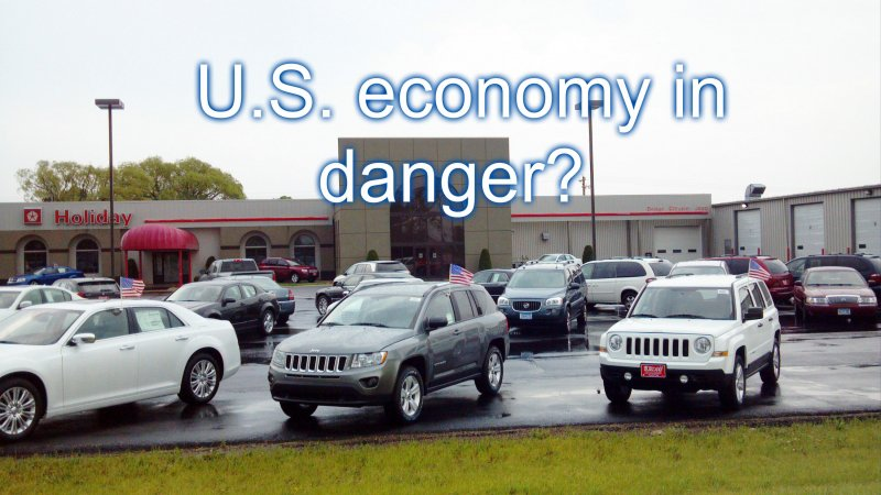 U.S. car sales slump and that's a bad sign for the economy