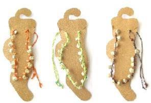 chaîne cheville,bijoux,cordon,coquillage,lot