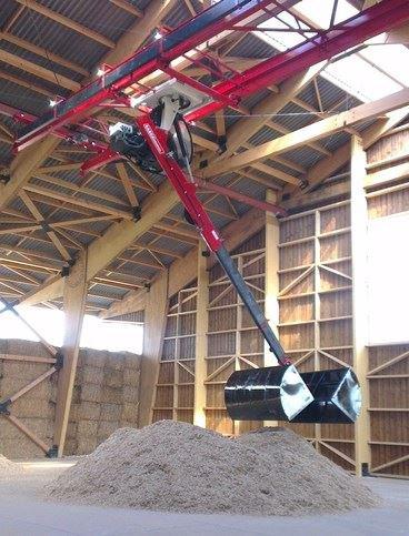 Projet d'entreprise 250ha de miscanthus et 5000m² de stockage pour Philippe Colin dans la Somme