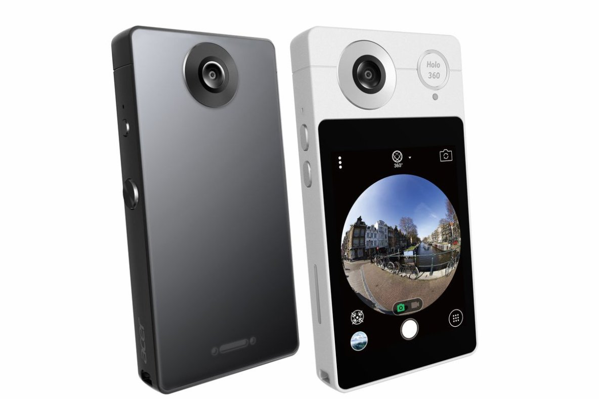 Acer Holo 360 is an Android camera plus phone