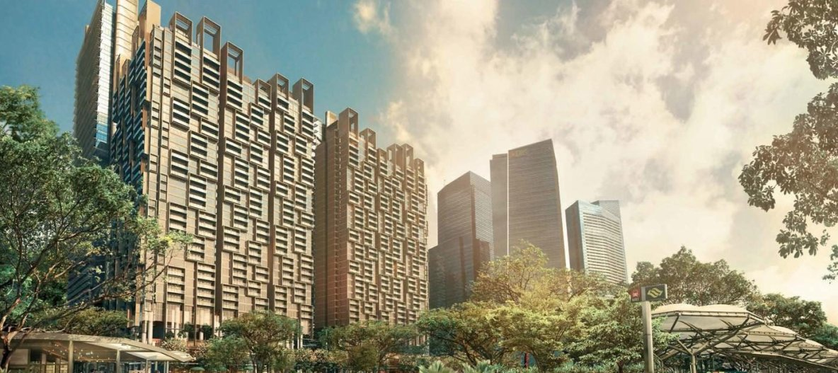 Marina One Residences – Developed by M+S Pte Ltd