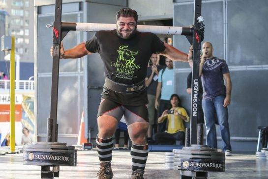Vegan Strongman Patrik Baboumian Breaks World Record