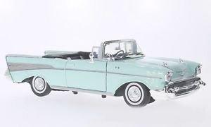 Voiture miniature 1/18 MOTOR MAX Chevrolet bel air Cabriolet 1957 ma ref v59 | eBay