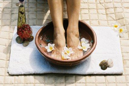 Bain de pieds à la lavande - Recette de grand-mère