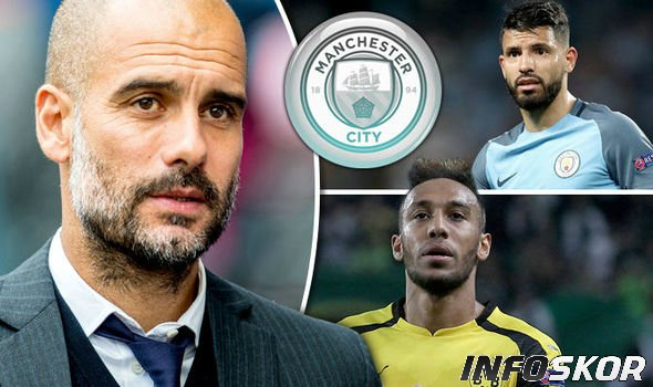 Manchester City Dikatakan Bakal Coba Datangkan Aubameyang - Infoskor.co
