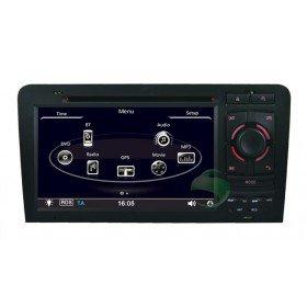 Auto DVD Player GPS Navigationssystem für Audi A3 S3(2003 2004 2005 2006 2007 2008 2009 2010 2011)