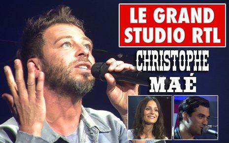 Samedi 15 juin : Le Grand Studio RTL de Christophe Maé (vidéo) dans Le Grand Studio RTL le 13-06-2013 sur RTL.