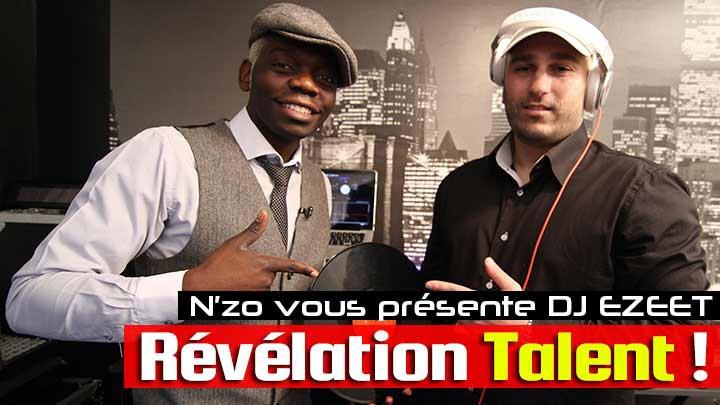 DJ Ezeet dans Révélation Talent ! émission animée par N'zo