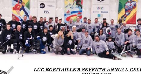 Tom Bernard, Luc Robitaille Among Those In Sunday Hockey Game: Sundance